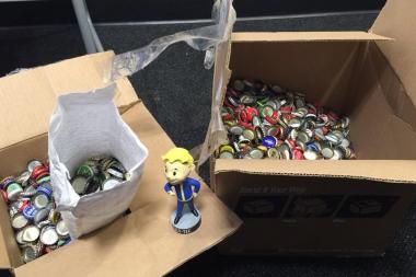 מפתחי Bethesda הבטיחו עותק למעריץ ששילם עם 2,200 פקקים