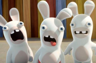 הכותבים של Robot Chicken עובדים על סרט לארנבים המטורפים