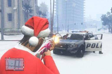 חג מולד שמח מ-GTA V