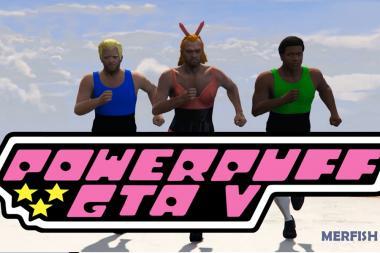 בנות הפאוור פאף מגיעות ל-GTA V