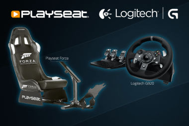 ביקורת - ערכת PlaySeat והגה ודוושות Logitech G920