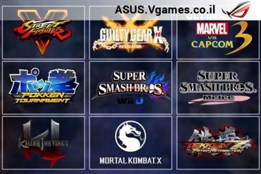 הוכרזה רשימת המשחקים ל-EVO 2016