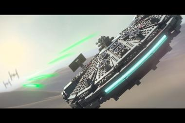 לגו מכריזה על LEGO Star Wars: The Force Awakens