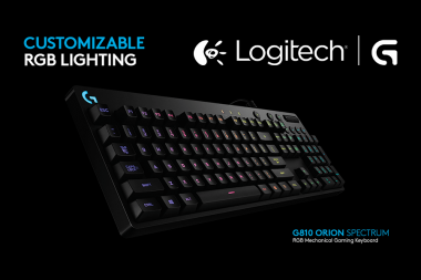Logitech מכריזים על מקלדת ה-G810 Orion Spectrum