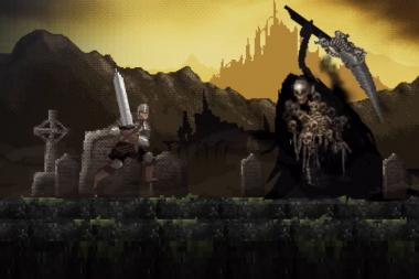 Slashy Souls מביא את Dark Souls למובייל