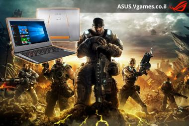 בואו נשחק Gears of War Ultimate על ASUS G752