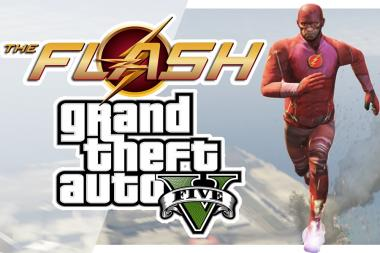 שחקו בתור ה-Flash ב-GTA V