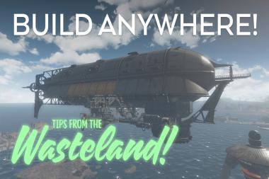 Fallout 4 - צפו בטריילר להרחבת Wasteland Workshop