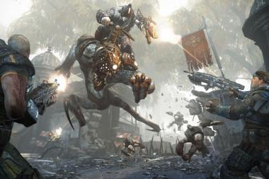 נחשף תאריך היציאה של Gears of War 4