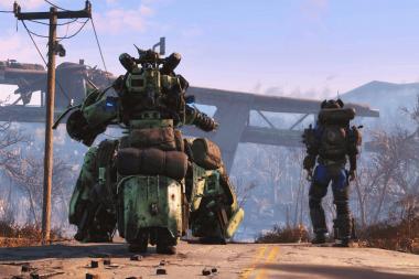 ביקורת - Fallout 4 Automatron