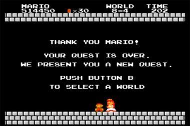 שיא עולם חדש ב-Super Mario Bros