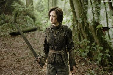 השחקנית שמגלמת את אריה סטארק ממשחקי הכס מותחת מעריצים