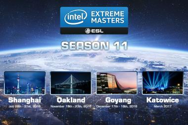 נחשפו פרטים על אליפות Intel Extreme Masters עונה 11