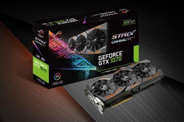 אסוס מכריזה על שני כרטיסי GTX 1070 חדשים