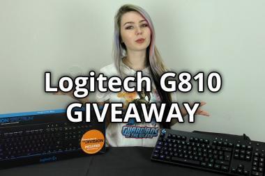 זכו במקלדת מכנית Logitech G810