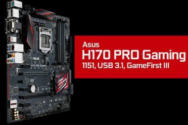 ביקורת - ASUS H170 Pro Gaming