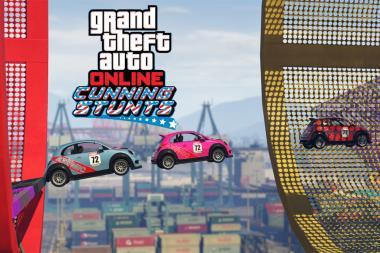 הרחבת Cunning Stunts ל-GTA V זמינה להורדה