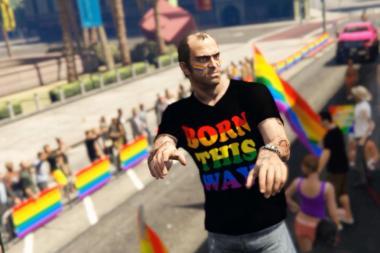 מצעד הגאווה מגיע ל-GTA V