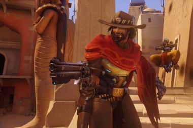 Overwatch - עדכון חדש מחליש את McCree ומחזק את Ana
