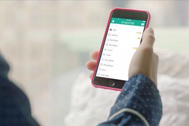 Snapchat קונה חברת חיפוש ב-110 מיליון דולר