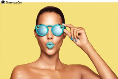 Snapchat מכריזה על Spectacles: משקפי שמש חכמות עם מצלמות וידאו