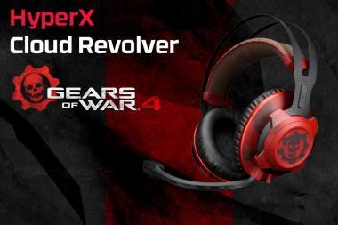 זכו באוזניות Cloud Revolver בעיצוב 4 Gears of War מתנת HyperX!