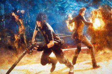 Final Fantasy 15: השוואת גרפיקה בין ה-PS4 ל-Xbox One S