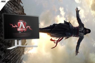 זכו במסך גימיינג מתנת AOC לכבוד יציאת הסרט Assassin's Creed