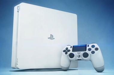 """סוני מתכננת לשחרר PS4 Slim בצבע """"קרחון לבן"""""""