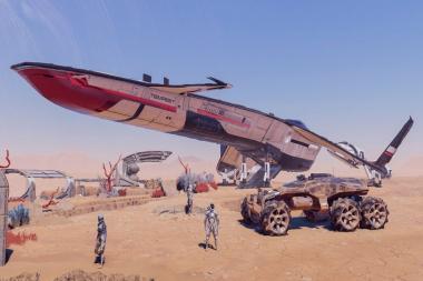 טריילר חדש ל-Mass Effect Andromeda