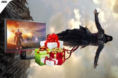 זכו במסך גימיינג מתנת AOC לכבוד יציאת הסרט Assassin's Creed - חלק #2