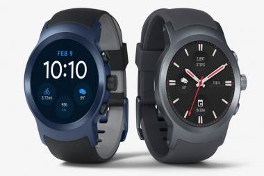 גוגל ו-LG חושפות את השעונים החדשים שלהם עם Android Wear 2.0