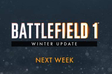 Battlefield 1 - עדכון חדש יגיע למשחק בשבוע הבא