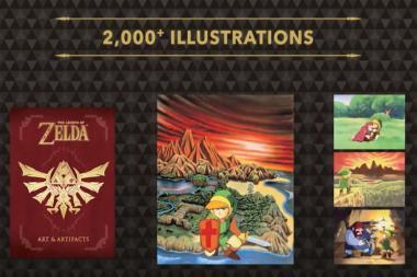 Dark Horse משחררת ספר שיסכם 30 שנים של The Legend of Zelda