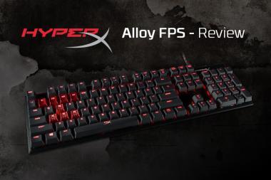 ביקורת - מקלדת HyperX Alloy FPS