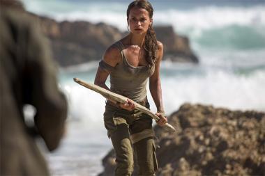 צפו בתמונות מתוך הסרט החדש של Tomb Raider