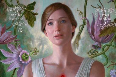 אמא'לה: פוסטר ראשון ומדמם לסרטו החדש של דארן ארונופסקי