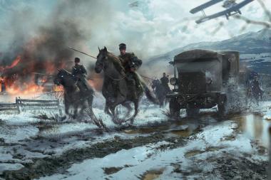 ההרחבה הבאה של Battlefield 1 אמורה לכלול חיילות