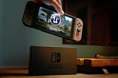 Nintendo Switch תומכת באופן מלא ב- Unreal Engine 4