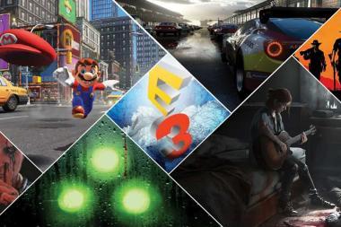 רשימת המשחקים שיוצגו בכנס E3 2017