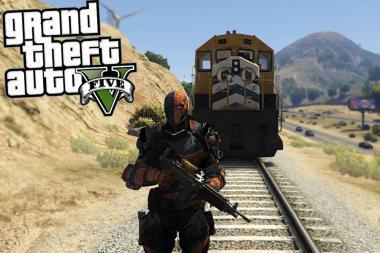 סרטון של GTA V מתאר את Rockstar הורגת מודים רבים בדרך מדהימה