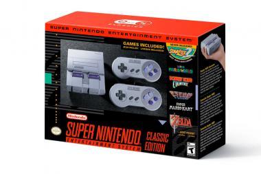 Super Nintendo Classic Edition הוכרז, יכיל 21 משחקים קלאסיים