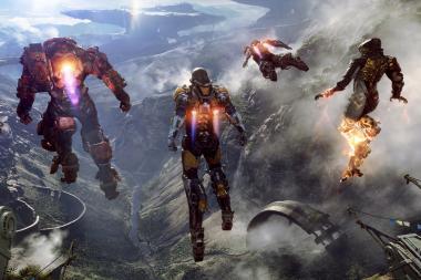 טריילר המשחקיות של Anthem ל-PS4 הוא בעצם משחקיות מה-Xbox One X