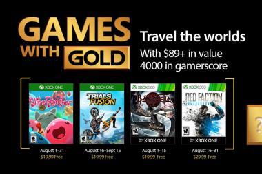 Games With Gold - נחשפו המשחקים של חודש אוגוסט