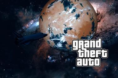 מוד חדש של GTA V לוקח את השחקנים לחלל