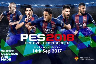 הדמו של Pro Evolution Soccer 2018 בדרך לרשת