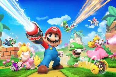 ביקורת - Mario + Rabbids: Kingdom Battle