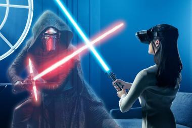 ערכת AR חדשה של Star Wars מאפשרת לנהל קרבות עם חרבות אור