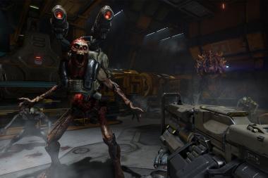 צפו בסקירה טכנית של Doom על הסוויץ' ובסרטוני משחקיות