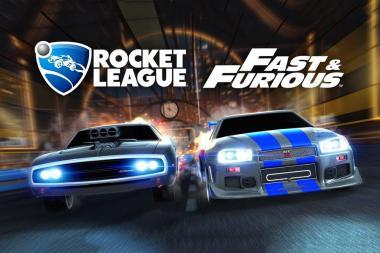 """ההרחבה השנייה של """"מהיר ועצבני"""" ב-Rocket League מגיעה בקרוב"""